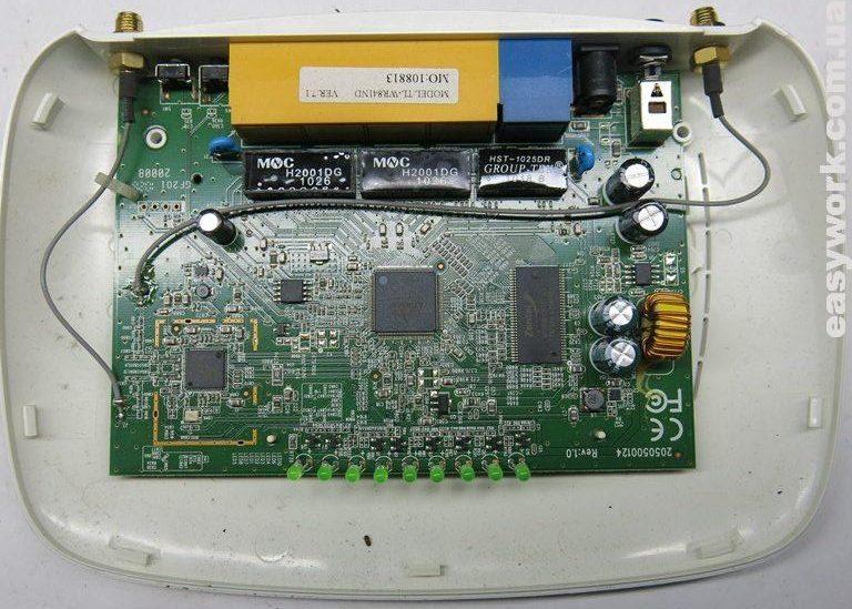 Плата роутера TP-LINK TL-WR841ND