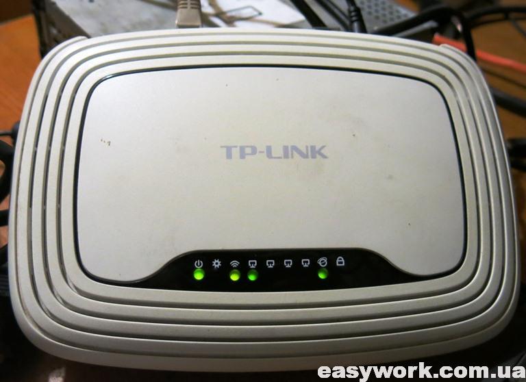 Роутера TP-LINK TL-WR841ND на проверке