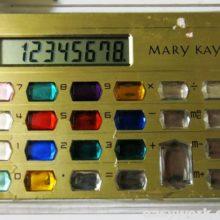 Калькулятор MARY KAY (замена батарейки)