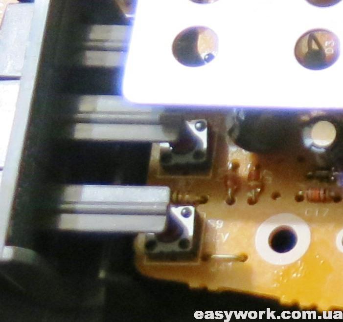 Визуальное нажатие кнопок