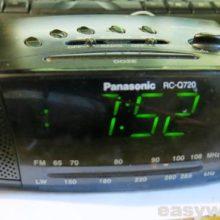 Не устанавливается время Panasonic RC-Q720