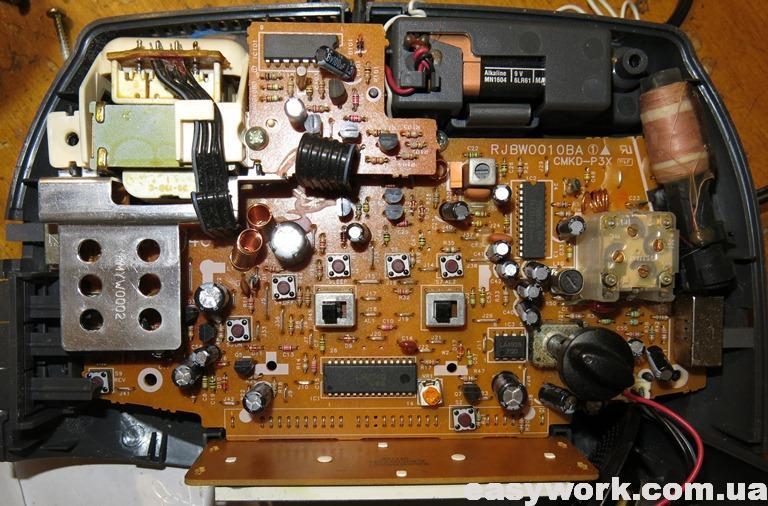 Плата радиоприемника Panasonic RC-Q720