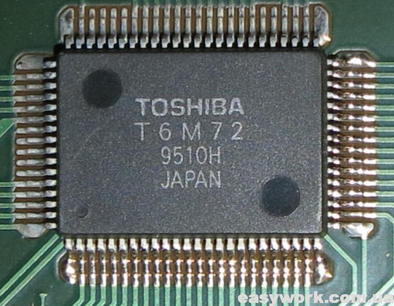 Микросхема TOSHIBA T6M72