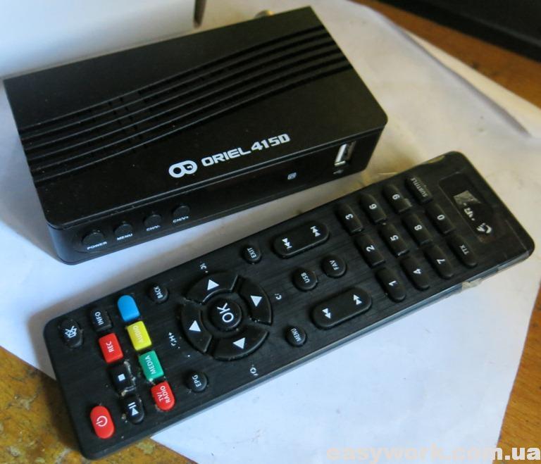 Внешний вид устройства ORIEL 415D