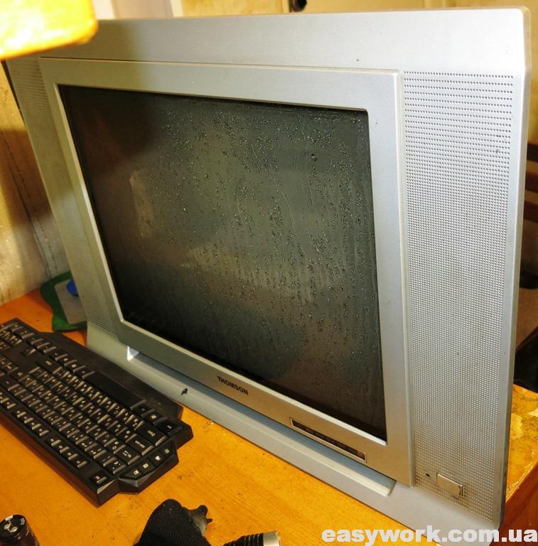 Телевизор THOMSON 21DCV12KH