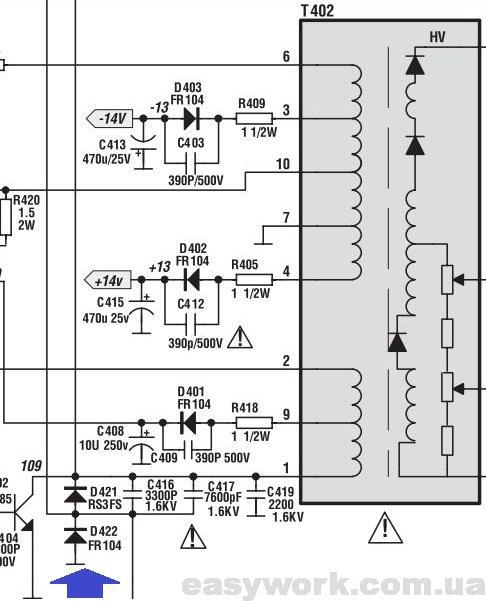 Обвязка трансформатора ТДКС