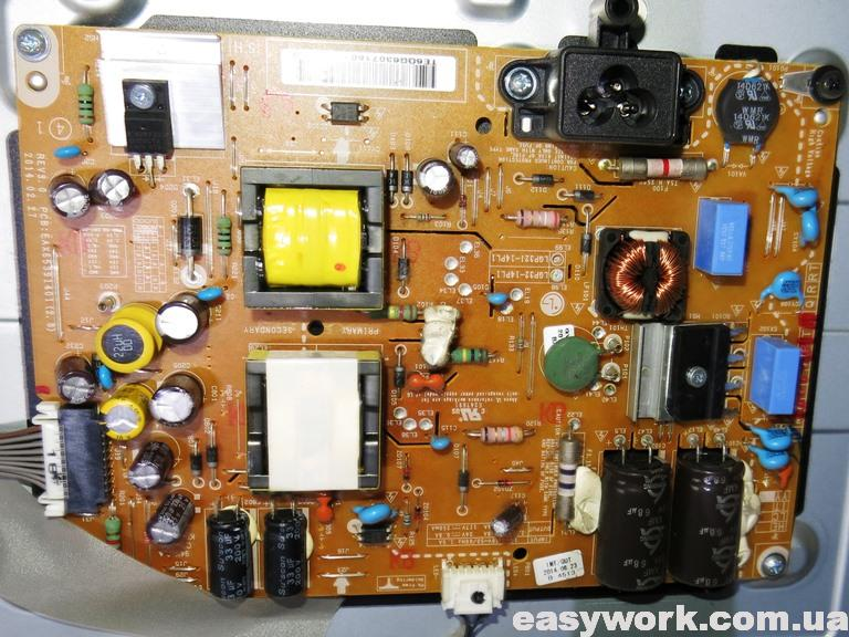 Плата блока питания телевизора LG 32LB570V-ZJ