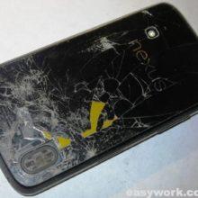 Осмотр разбитого LG Google Nexus 4 (E960)
