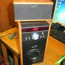 Ремонт акустической системы Genius SW-HF5.1 4000 (нет звука)