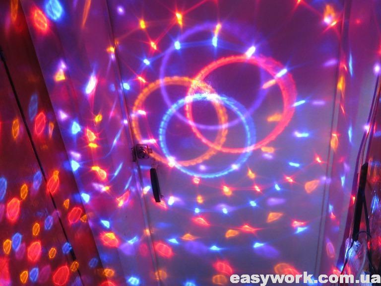 Отремонтированный диско шар Magic Ball
