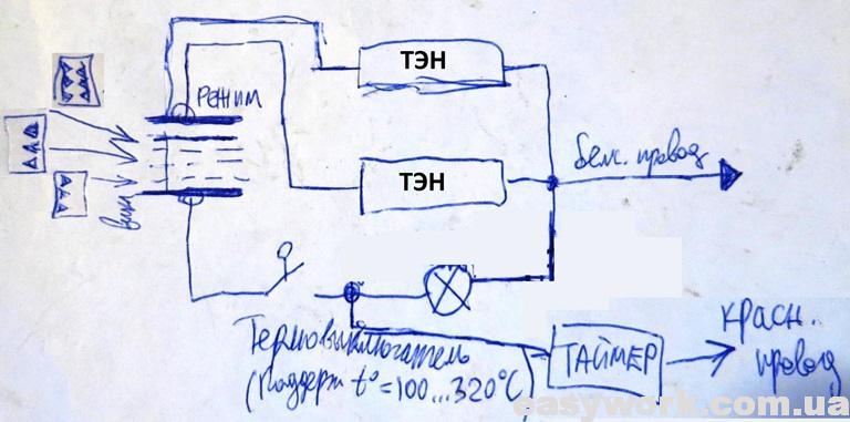 Принципиальная схема духовки CENTEK CT-1536-20