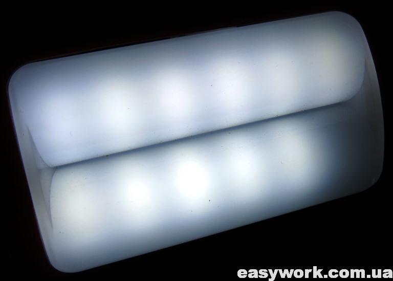 Боковой свет фонаря
