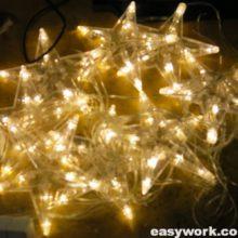 Ремонт гирлянды Звезда 10 LED (тусклый свет)