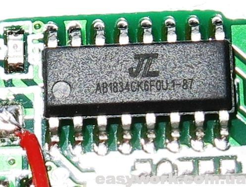 Микросхема AB1834CK6F0U.1-87
