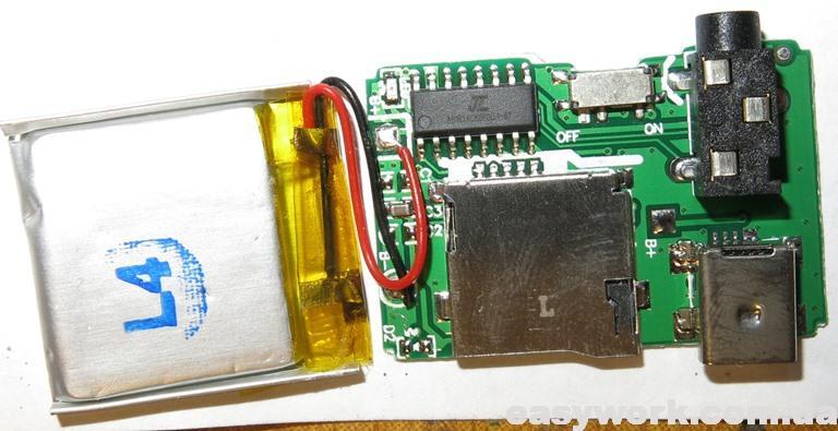 Плата Mini USB MP3-плеера