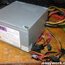 Осмотр БП DTS ATX-500A
