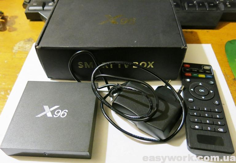 Приставка OTT TV Box X96