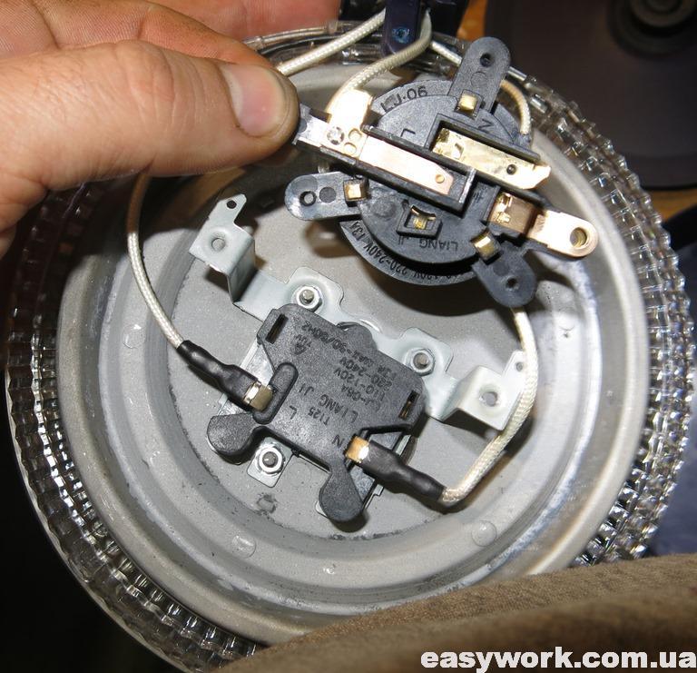 Термоавтомат и термопредохранитель LJ-06