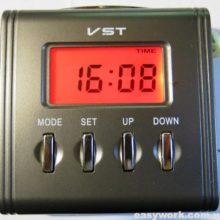 Ремонт часов VST 7069S (отображается часть дисплея)