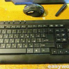 Ремонт клавиатуры DeTech KM-226W (не работает ряд кнопок)