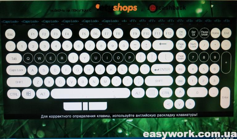 Кнопки на клавиатуре, которые не работают