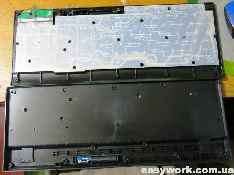 Разборка клавиатуры (фото 2)