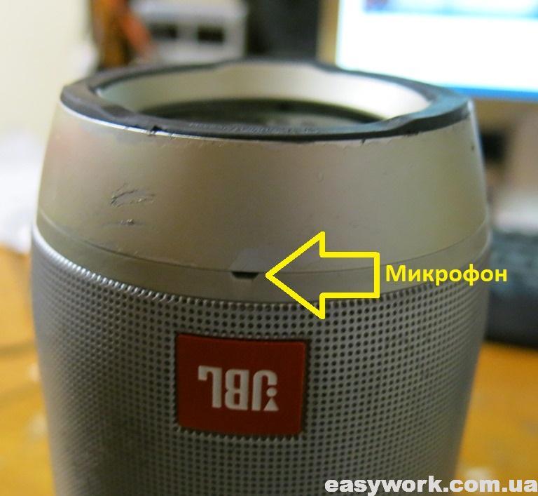 Расположение микрофона