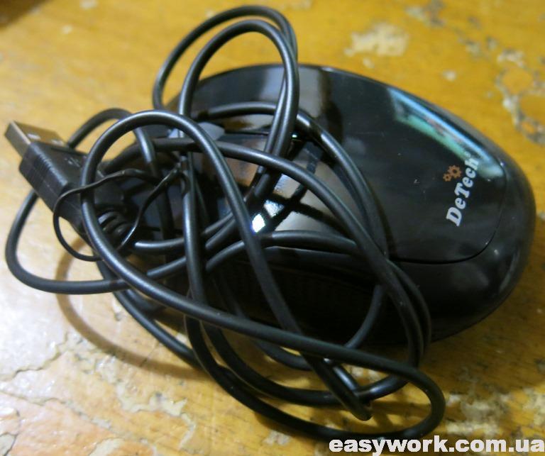 Компьютерная мышь DeTech DE-3062