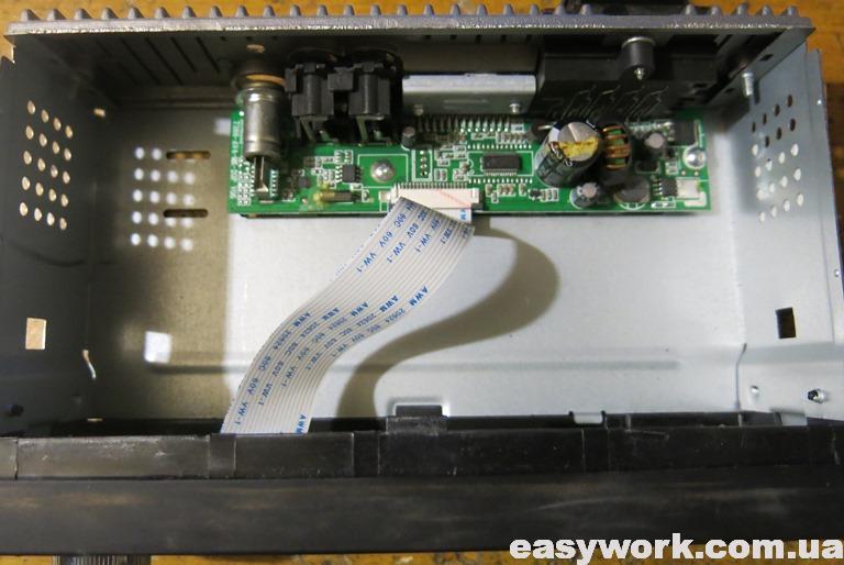 Внутреннее устройство магнитолы 4020CRB