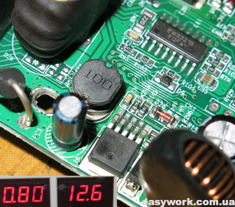 Замена конденсатора около XL4003E1