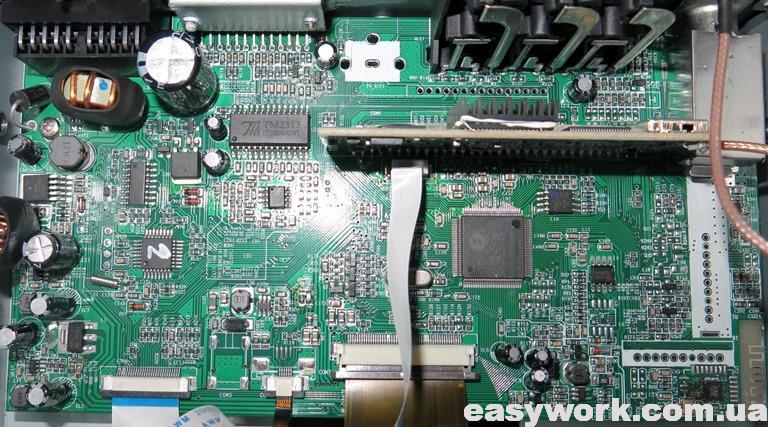 Плата магнитолы Malon ML-555DCKBT/17