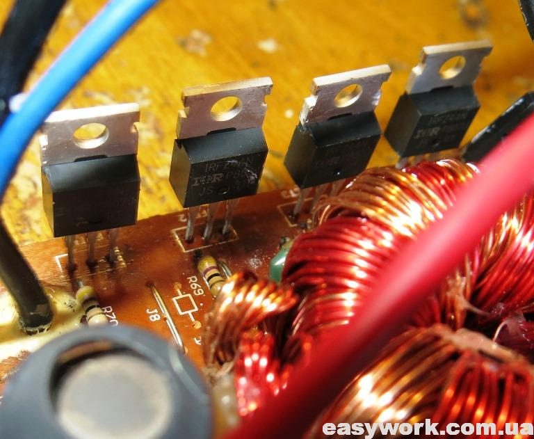 Новые транзисторы IRFZ44N