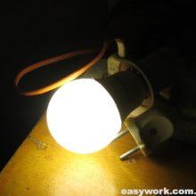 Ремонт светодиодной лампы TITANUM (не работает)