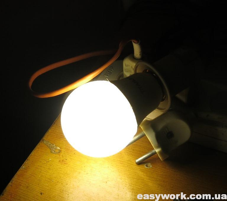 Отремонтированная лампа TITANUM