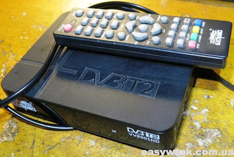 Т2 ресивер ELECTRONICS VV8901HD