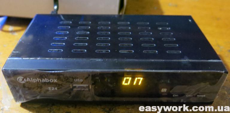 DVB-T2 ресивер Alphabox T24