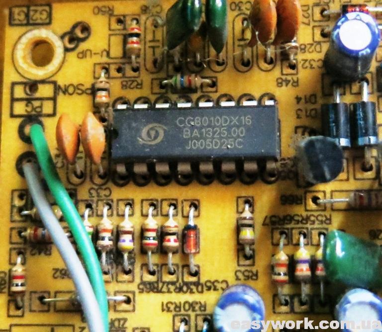 ШИМ контроллер CG8010DX16