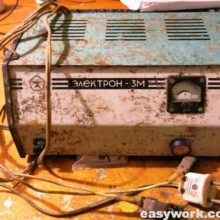 Ремонт зарядного устройства Электрон 3М