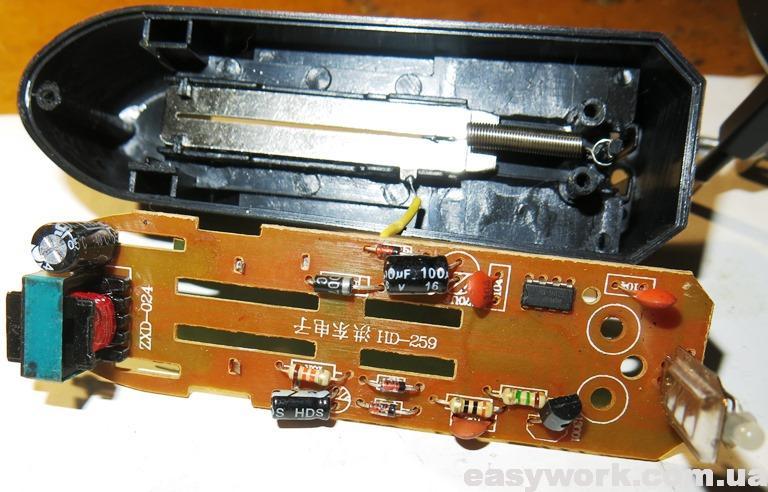 Внешний вид платы зарядного устройства HD-0688