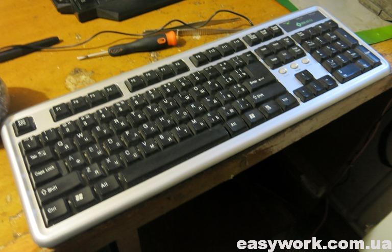 Отремонтированная клавиатура BRAVO KB-1906