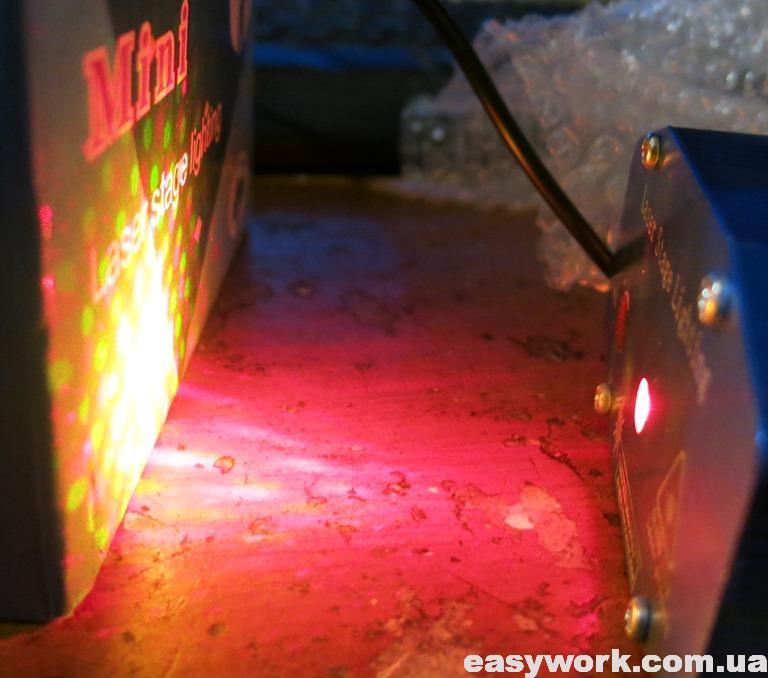 Отремонтированный лазерный проектор