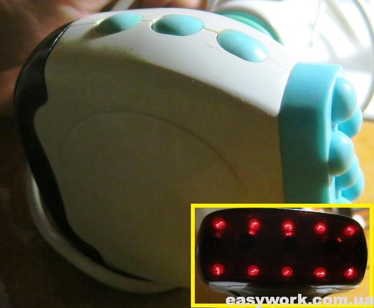 Инфракрасные светодиоды на массажере