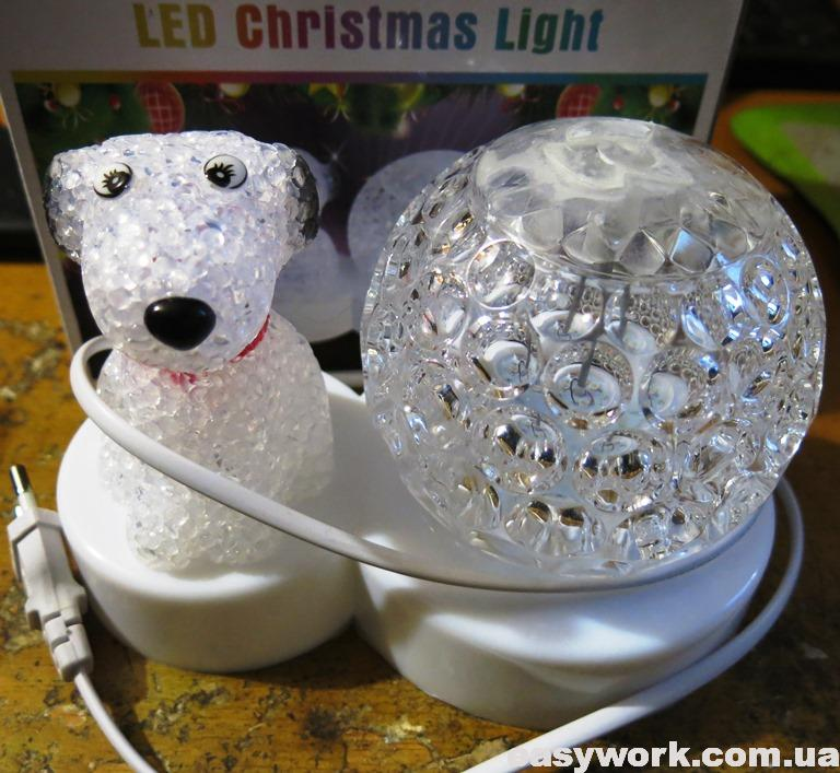 Светодиодный шар лампа LED Christmas Light