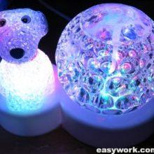 Ремонт светодиодного шара лампы LED Christmas Light