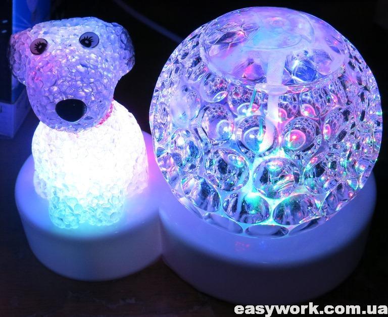 Отремонтированный светодиодный шар лампа LED Christmas Light