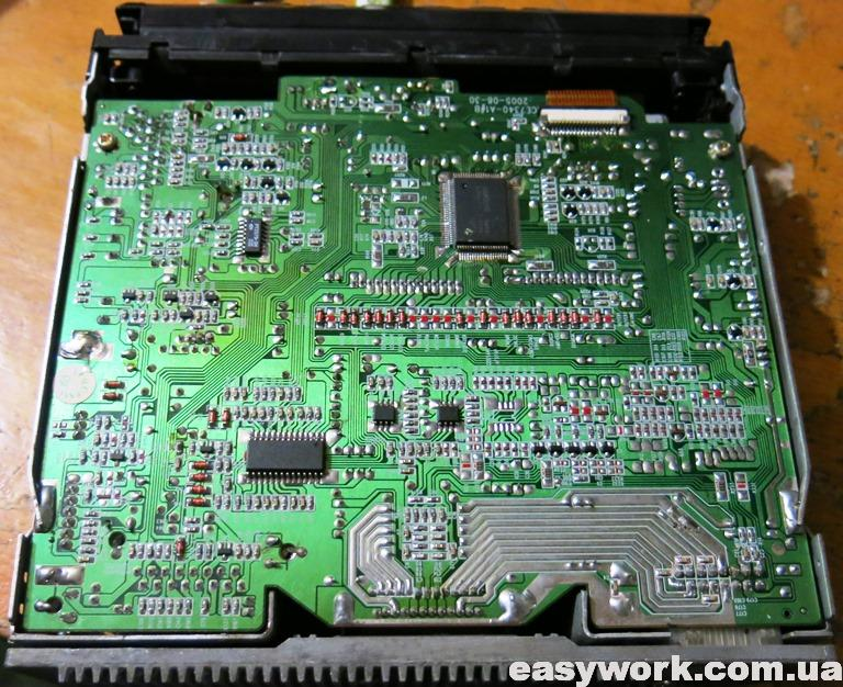 Плата магнитолы SITRONICS CMR504