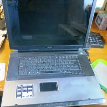 Не работает клавиатура ноутбука ASUS A7J