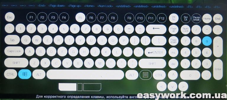 Тест клавиатуры онлайн