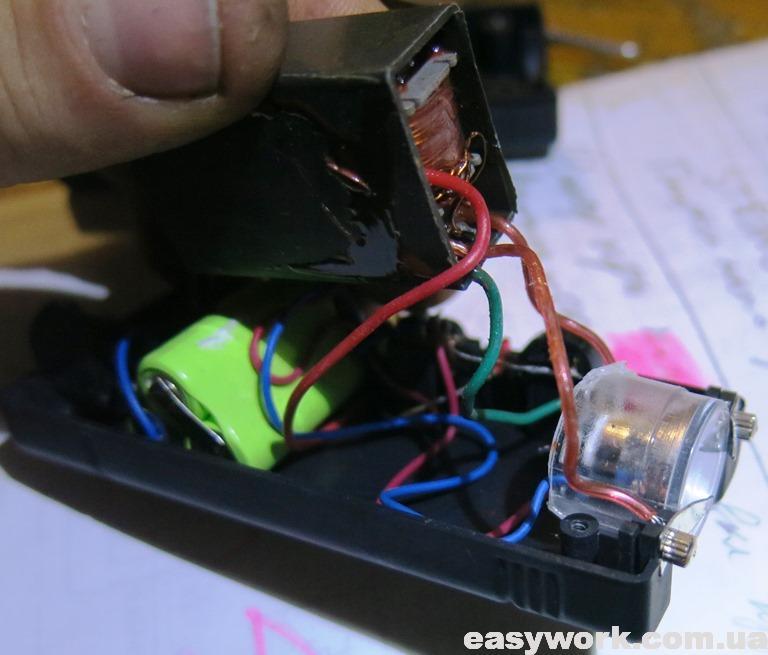 Преобразователь электрошокера
