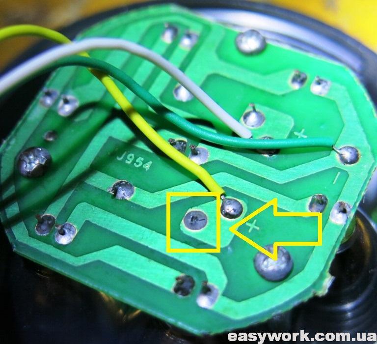 Непропай резистора